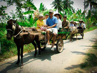 Giá thuê xe hợp đồng du lịch 7 chỗ Sài Gòn đi Du lịch miệt vườn – Bến Tre